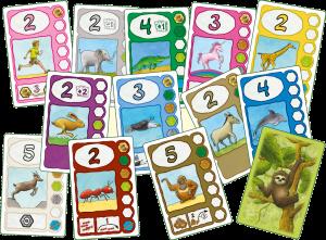 Faultier - Spielkarten
