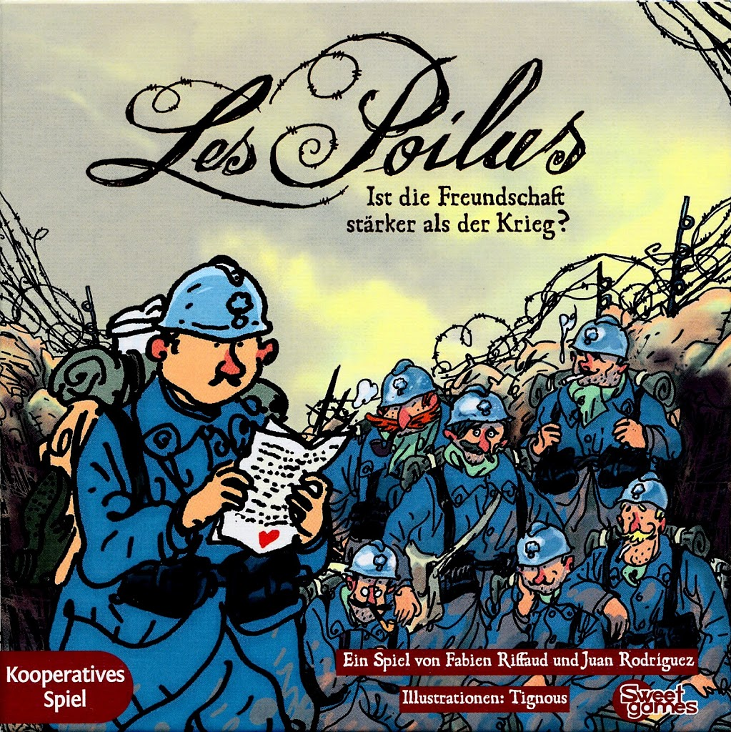 Les Poilus: Cover