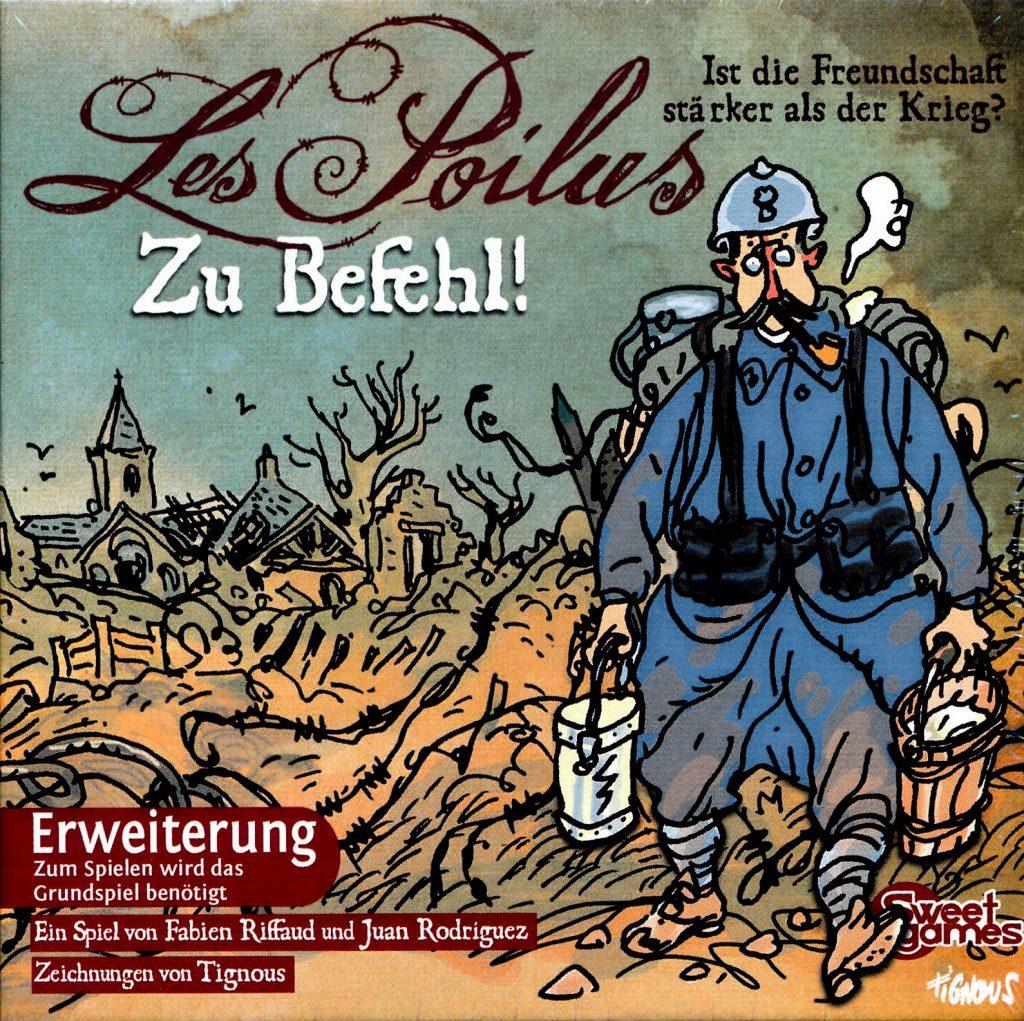 Les Poilus - Zu Befehl: Cover