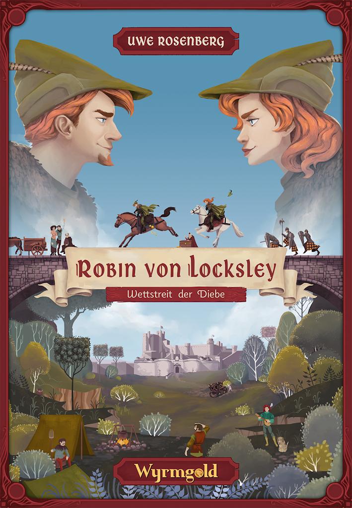 Robin von Locksley (Wyrmgold): Cover