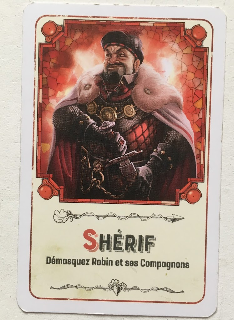 Robin Wood: Beispiel-Karte Sheriff