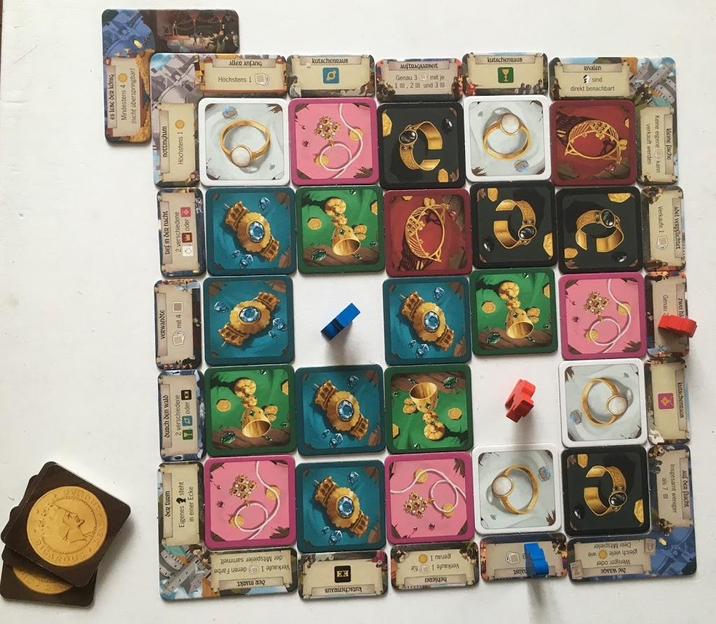 Robin von Locksley (Wyrmgold): Spielaufbau