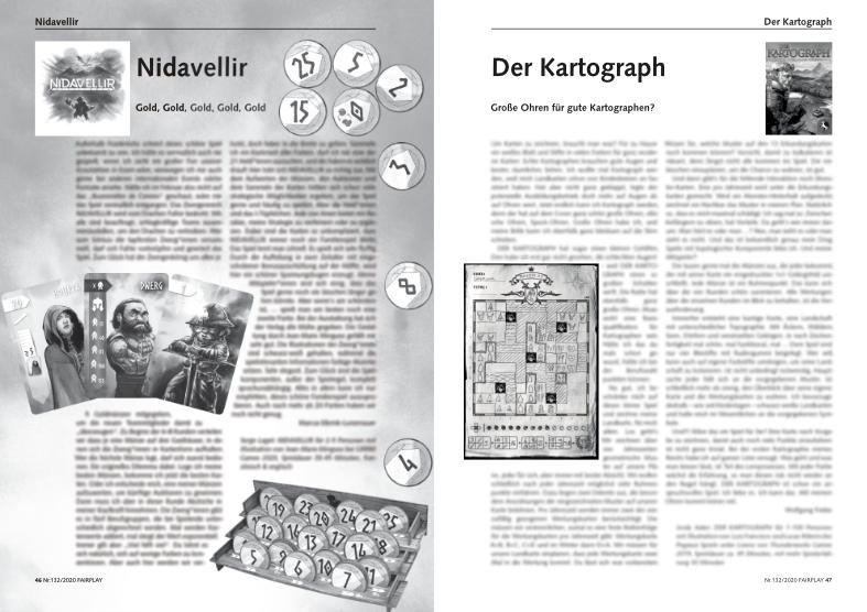 Vorschaubild Fairplay 132: Nidavellir, Der Kartograph