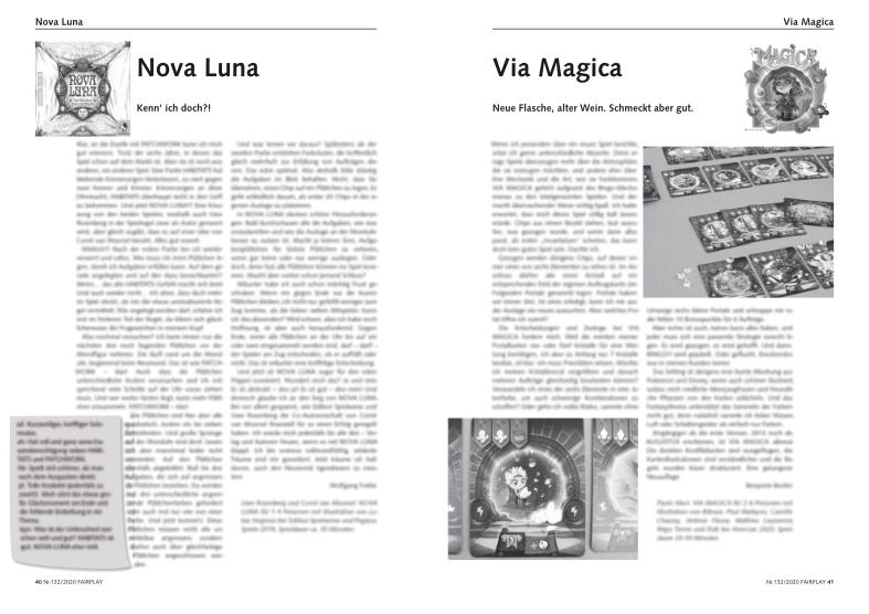 Vorschaubild Fairplay 132: Nova Luna, Via Magica