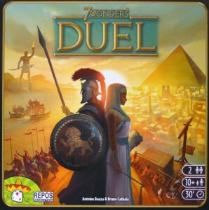Fairplay 116 – Rezension: 7 Wonders Duel Cover