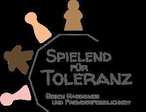 Logo von Spielend für Toleranz