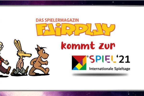 Das Fairplay Magazin auf der Spielmesse in Essen